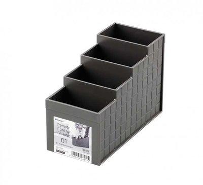 303生活雜貨館  inomata 4825 遙控器收納盒01-深灰 高雄市