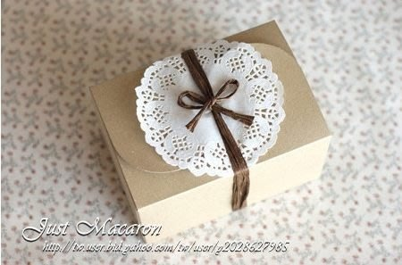 AM好時光【M14】韓國厚款 牛皮紙 蝴蝶對卡包裝盒【大】❤10入180元 婚禮小物 西點餅乾 點心盒 禮物盒 手工皂袋