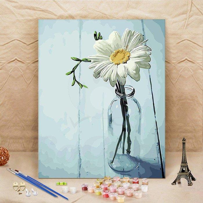 DIY油畫-手繪畫 填色畫 油彩畫 客廳裝飾畫 塗色掛畫(40*50cm)[好裝飾'_SoGoods優購好]