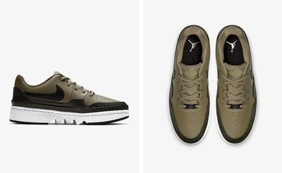 (A.B.E)Air Jordan 喬丹 1 Jester XX Low Laced CI7815-201 CI7815-106 女潮鞋 兩色