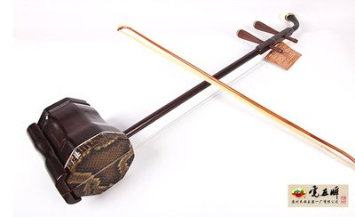 【民族乐器】虎丘中胡(5222)紅木專業4寸中胡 H4792D
