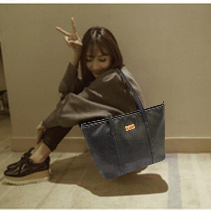 托特包 時尚手提包韓版學生單肩大包大容量百搭簡約托特包