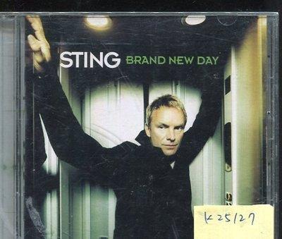 *真音樂* STING / BRAND NEW DAY二手 K25127