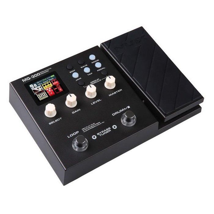 ☆唐尼樂器︵☆分期免運 NUX MG-300 電吉他 地板型 音箱模擬 綜合效果器 錄音介面