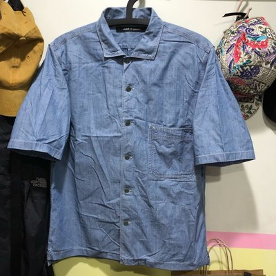 UNIQLO AND LEMAIRE 單寧襯衫 L號