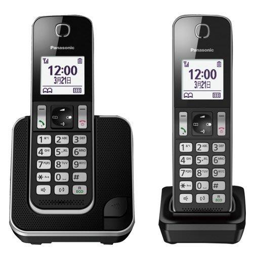 【送充電電池】國際牌 Panasonic KX-TGD312(TGD312TW) 數位無線電話【公司貨】