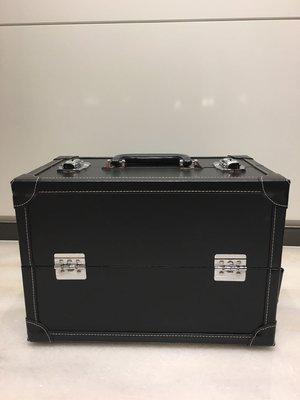 專業黑色高級3層化妝箱