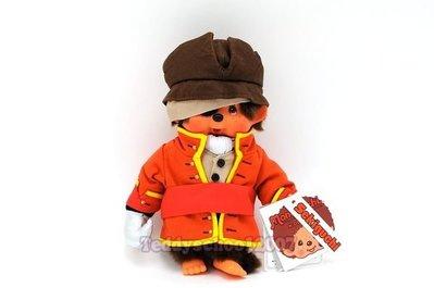 ☆╮泰迪學園╭☆日本Sekiguchi 夢奇奇MONCHHICHI【海盜船長】『幸福.幸運』的可愛小猴子