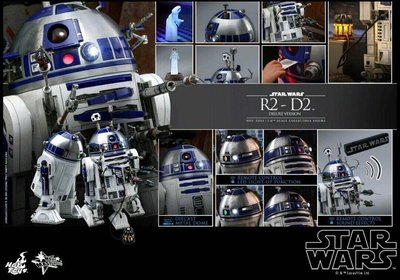 MMS511 hot Toys Star Wars R2D2 R2-d2 Deluxe Version 全新未開