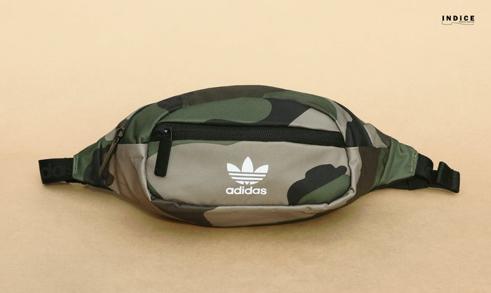 INDiCE↗ adidas Originals National Waist Bag CK6587 三葉草肩腰包 迷彩