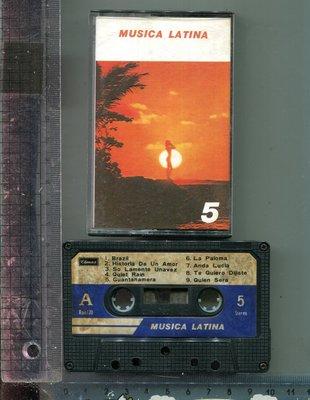 MUSICA  LATINA (5) CLIMAX唱片二手錄音帶 (無歌詞)