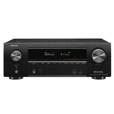 【MEIGO美購】Denon AVR-X1500H帶有HEOS的7.2聲道4K AV接收器(經過認證的翻新) Manufacturer refurbished