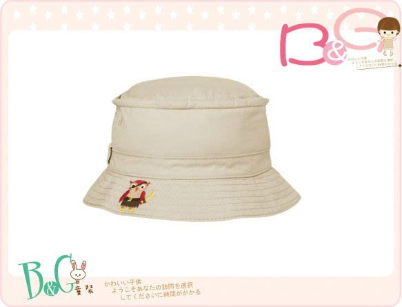 【B& G童裝】正品美國進口GYMBOREE刺繡動物圖樣嬰兒遮陽帽12-24mos