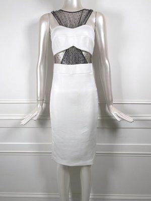 [我是寶琪] 侯佩岑二手商品 Noam Hanoch 白色蕾絲洋裝