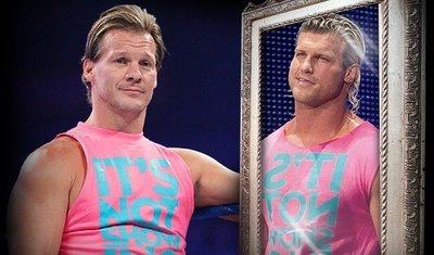 ☆阿Su倉庫☆WWE Dolph Ziggler Show Off Pink T-Shirt DZ就是愛現粉色版 特價中