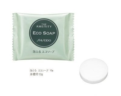 日本 SHISEIDO THE AMENITY ECO SOAP 身體皂 10g