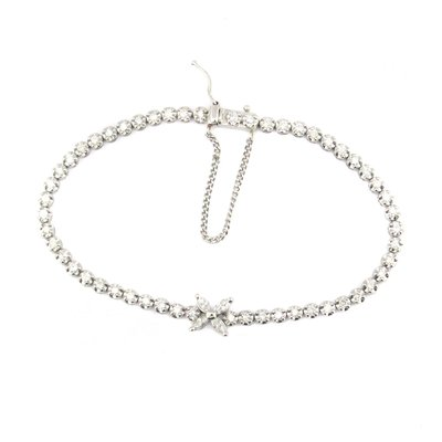 【JHT金宏總珠寶/GIA鑽石專賣】日本工藝天然鑽石手鍊(JB45-A14)