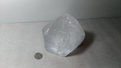 天然白水晶柱~開運能量~重約2.8公斤~編號CT15