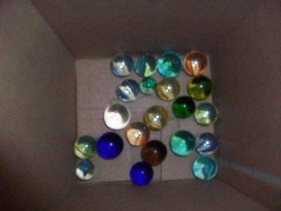 【水晶五彩繽紛彈珠】懷舊留下來的彈珠,和水晶彈珠的佛珠