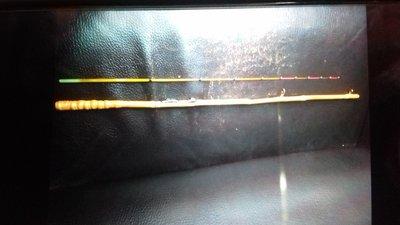 手作羅漢竹筏竿,150-170公分