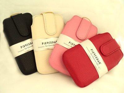 皮爾斯丹 piercedan*真皮皮套/保護皮套/抽拉式皮套/抽拉式~適HTC Incredible S s710