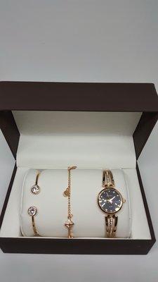 rocky手鏈手環手錶禮盒組