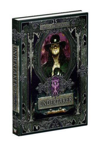 ☆阿Su倉庫☆WWE Undertaker 25 Years of Destruction Hardcover Book