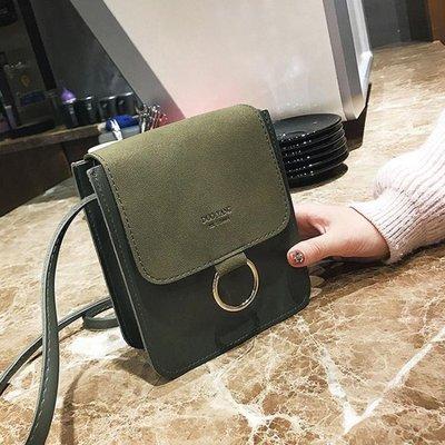半島鐵盒 手機包 磨砂手機包百搭單肩斜挎包夏季韓版手拿迷你小包包零錢包
