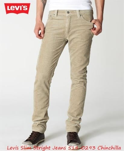 【超搶手】美國 FIXED GEAR 最愛 Levis Slim Jeans 514-0293 小直筒 燈蕊絨牛仔工作褲