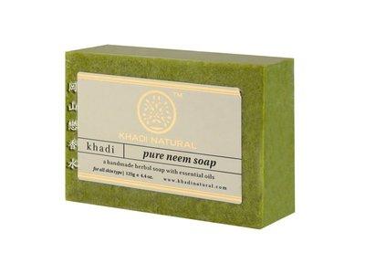 岡山戀香水~印度 Khadi 草本苦楝手工精油香皂125g~優惠價:55元