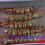 野生大明蝦(車輪蝦、班節蝦)每盒7尾630元☆鴻德水產☆滿額免運