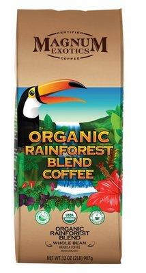 代購好市多COSTCO 商品~MAGNUM熱帶雨林有機咖啡豆907g/包