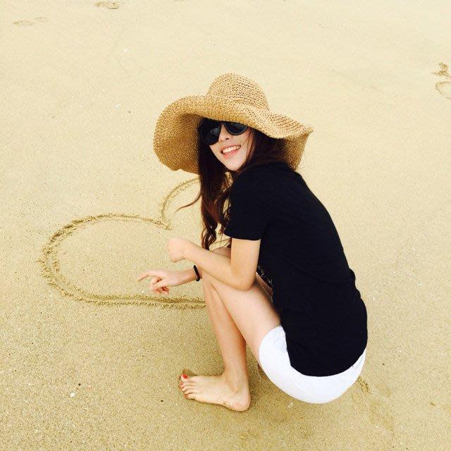日本寬大帽沿渡假風海邊遮陽帽 日本防紫外線 抗UV防曬帽子 涼感 日本草帽