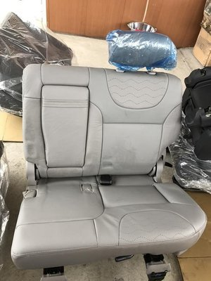 @中華汽車@MITSUBISHI~ZINGER~勁哥~全新原廠座椅~第二排(大)左邊座椅~灰色皮椅