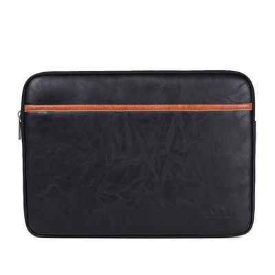 手拿包皮革電腦包-撞色時尚商務休閒男女包包3色73vy33[獨家進口][米蘭精品]