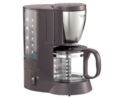 【免運費】象印 雙重咖啡機 - 咖啡杯約1~6杯 EC-AJF60