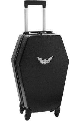 【丹】KS_Casket Carry Case 蝙蝠 棺木 棺材 造型 行李箱