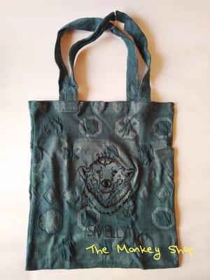 【 The Monkey Shop 】日本限定 全新正品 urban research smelly 藍色手提包 購物袋