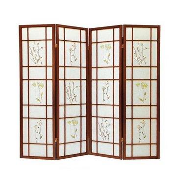 大高雄冠均二手貨家具(全省買賣)---【全新】 三朵花 屏風   隔間屏風    隔屏    復古屏風