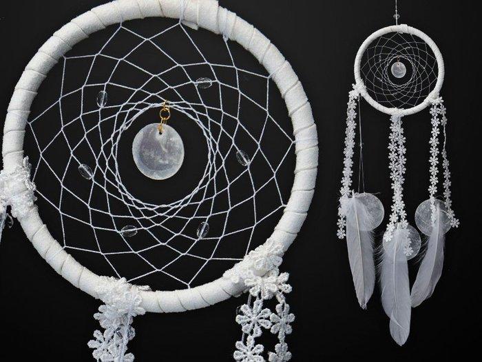 捕夢網 DIY材料包✿白色✿ 『繼承者們款式』聖誕節禮物、情人節禮物、交換禮物、生日禮物、畢業禮物