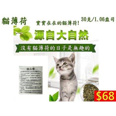 【億品會】貓薄荷 (30g密封袋包裝) 貓草 排除毛球清潔口腔 貓咪薄荷草粉 促进消化貓草