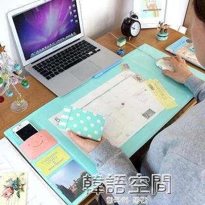 999韓版文具 大號遊戲桌面滑鼠墊.辦公電腦桌墊 DESK MOUSE MAT   韓語空間 YTL下單後請備註顏色尺寸