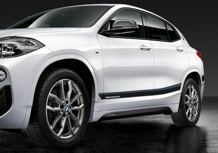 【樂駒】BMW F39 X2 M Performance 原廠 改裝 外觀 套件 精品 車身貼 貼紙 性能