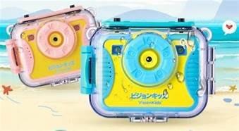日本品牌 Visionkids ActionX 『兒童防水運動攝錄機』加送16G記憶卡