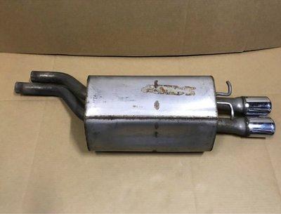 (缺貨中) W210 AMG 排氣管 (2進管) 後段 尾管 尾段 尾飾管 消音器 H WA 2104900715