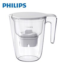 【Philips 飛利浦】 除鉛 除氯 除農藥 超濾濾水壺-通用版3.4L (AWP2937) 國際檢測機構SGS認證