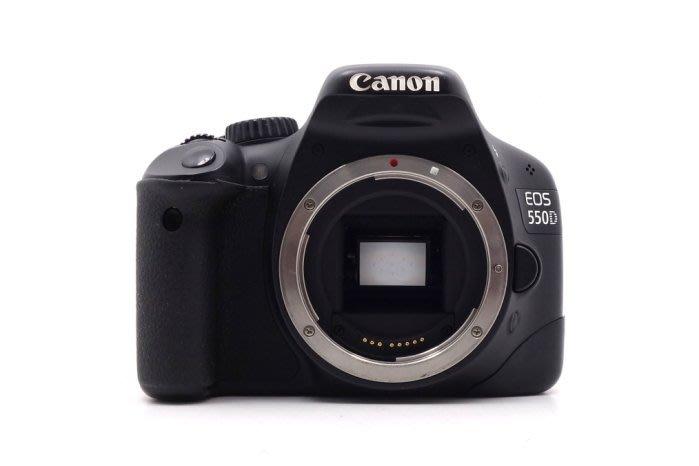 【台中青蘋果】Canon EOS 550D 單機身 二手 APS-C 單眼相機 快門次數約44,824 #34176