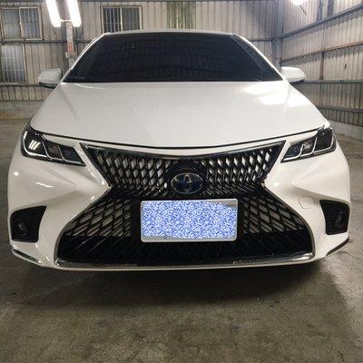 嘉誠汽車精品 豐田 2019 20 ALTIS 12代 仿LEXUS 前保桿 後保桿 類LS樣式 素材 油電 汽油