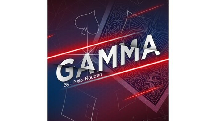 [魔術魂道具Shop]伽瑪變色~~Gamma by Felix Bodden and Agus Tjiu