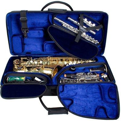 §唐川音樂§【Protec Alto Saxophone, Clarinet, & Flute 三合一樂器箱】